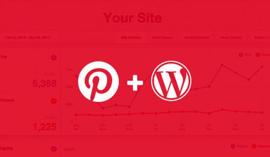 Verify Pinterest Site on WordPress
