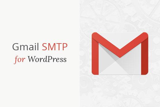 Send WordPress emails using Gmail smtp servers