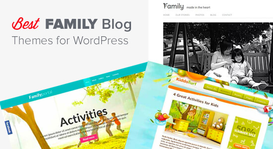Best Family Blog Themes for WordPress