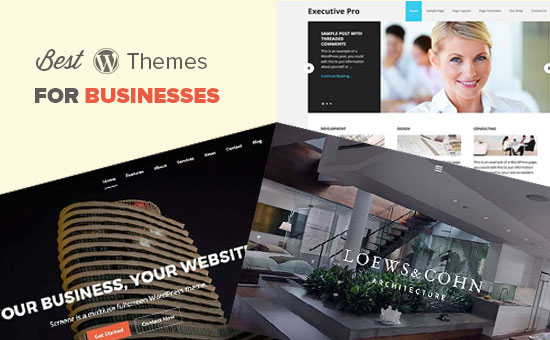 Best WordPress Themes for Businesses