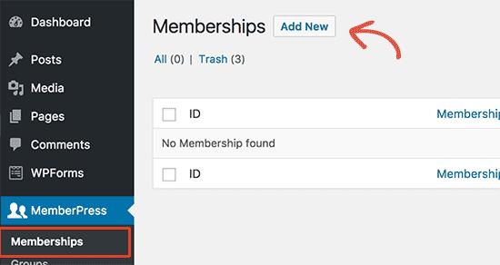 Add membership level