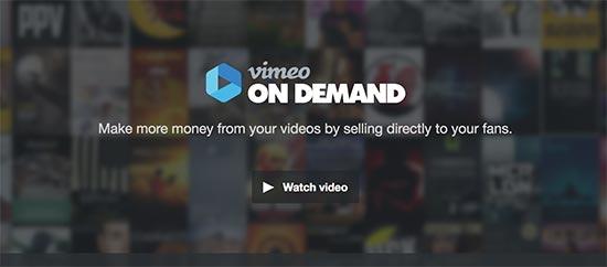 Vimeo sesuai Permintaan
