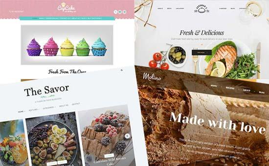 Memilih tema untuk blog makanan dan resep