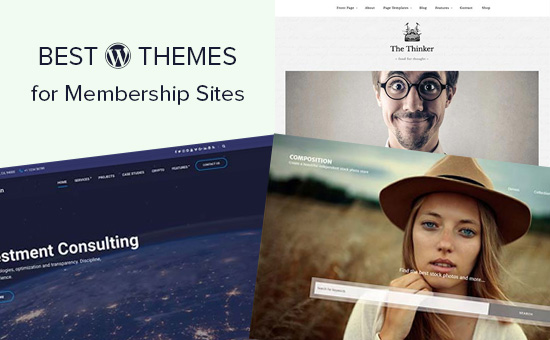 WordPress themes for membership sites