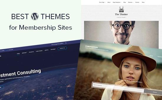 WordPress themes for membership sites