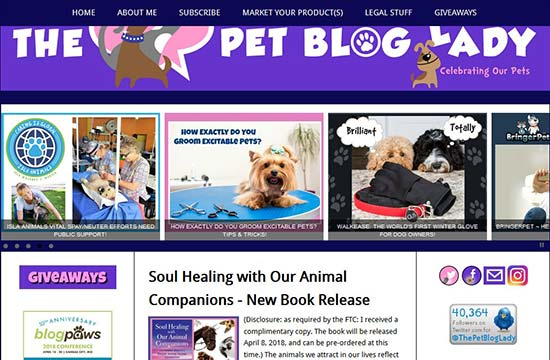 Pet Blogs