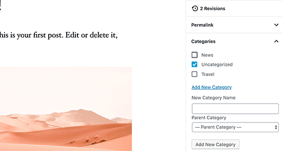 Uncategorized category