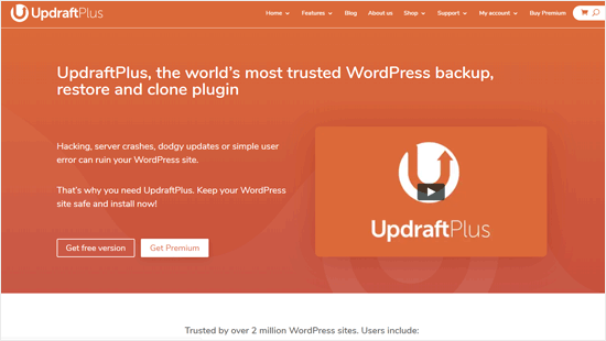 UpdraftPlus - Best WordPress Backup Plugin Business