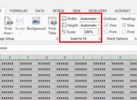 Why is My Spreadsheet Printing So Small in Excel 2013? - Solve Your Tech