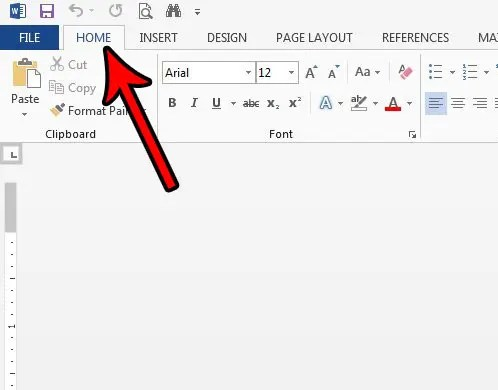 Small Caps in Word 2013 - Solve Your Tech