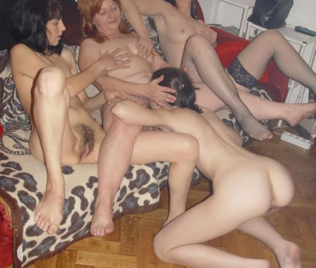Mom Aunties And Daughter Orgy