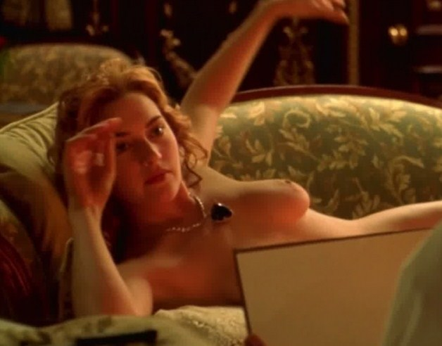 Kate Winslet Topless In Titanic