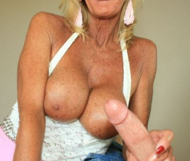 Freckled Tanned Gilf Milking Cock