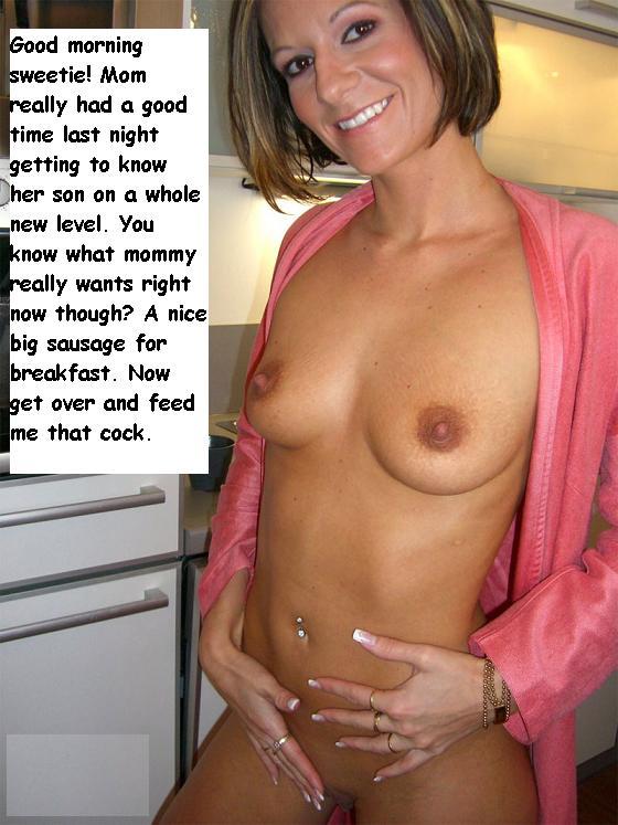 Mom Exposing Her Sexy Nude Body In Kitchen Jpg