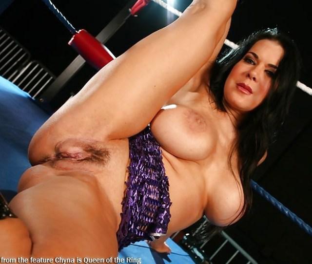 Wwe Womans Wrestler Chyna Joanie Laurer Posed Porn