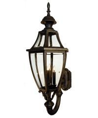 Hanover Lantern B134FSM Augusta Medium 3 Light Outdoor ...