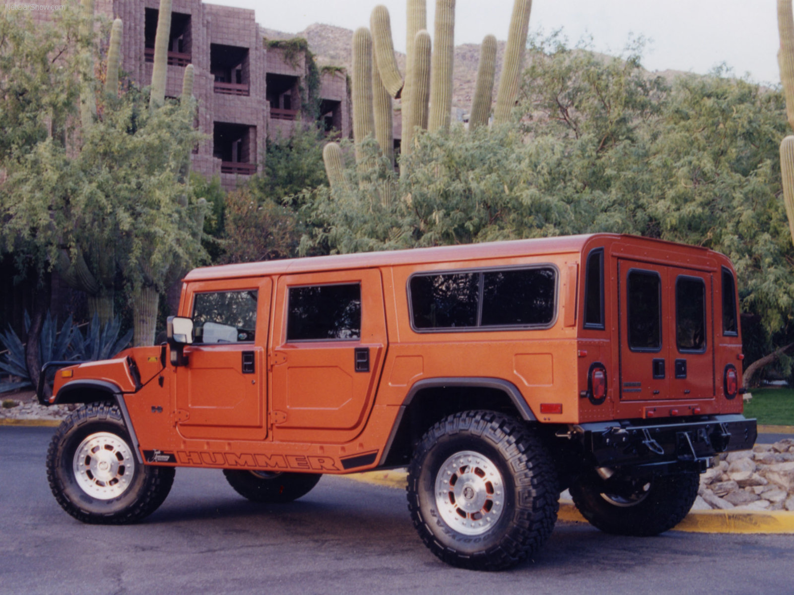 3DTuning of Hummer H1 SUV 1996 3DTuning unique on line car