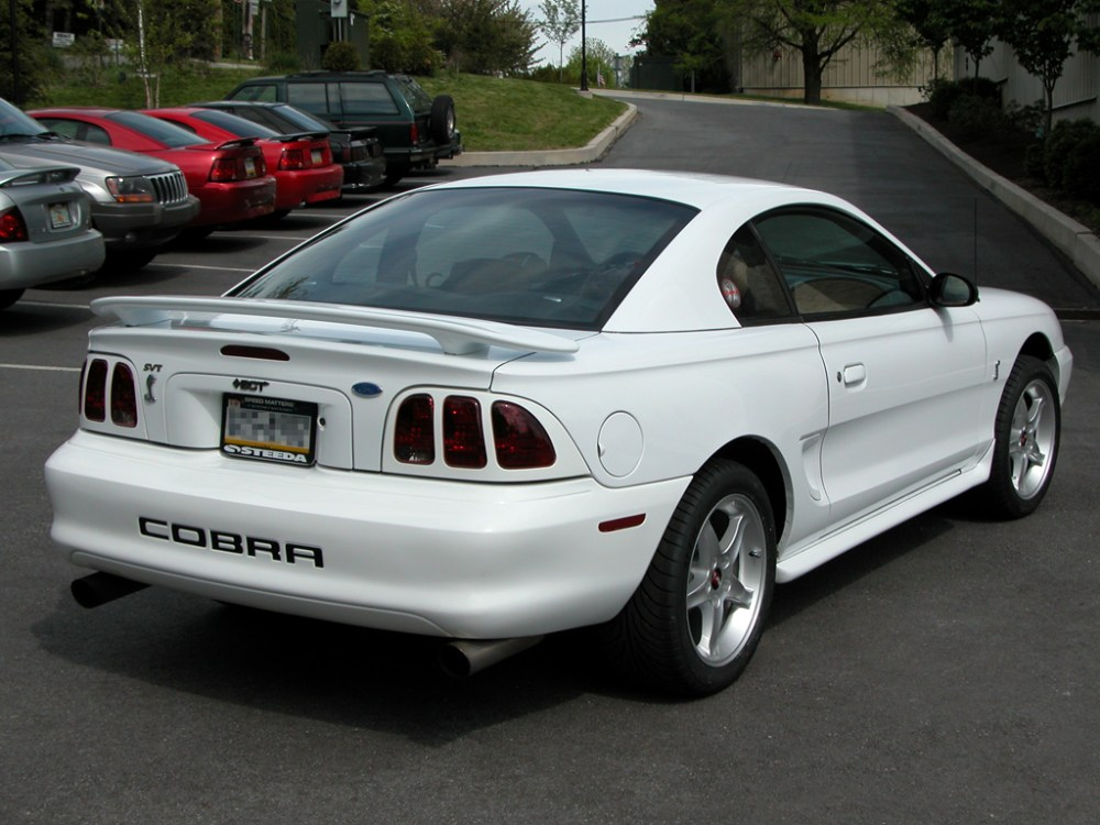 medium resolution of  mustang cobra r coupe 1995