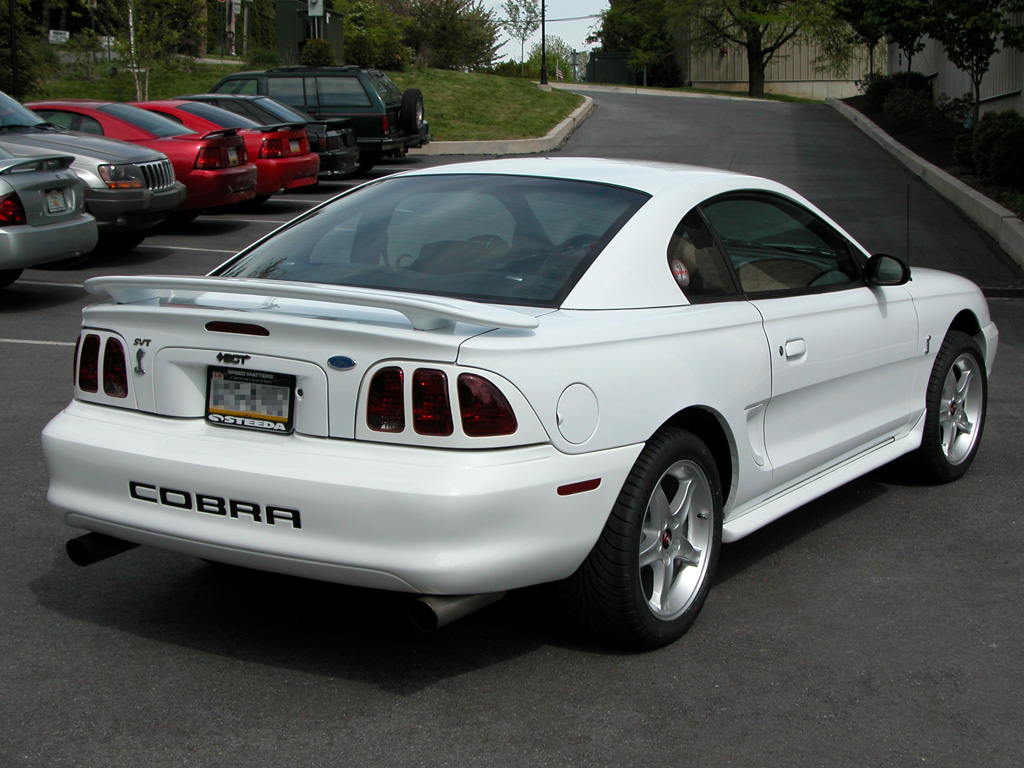 hight resolution of  mustang cobra r coupe 1995