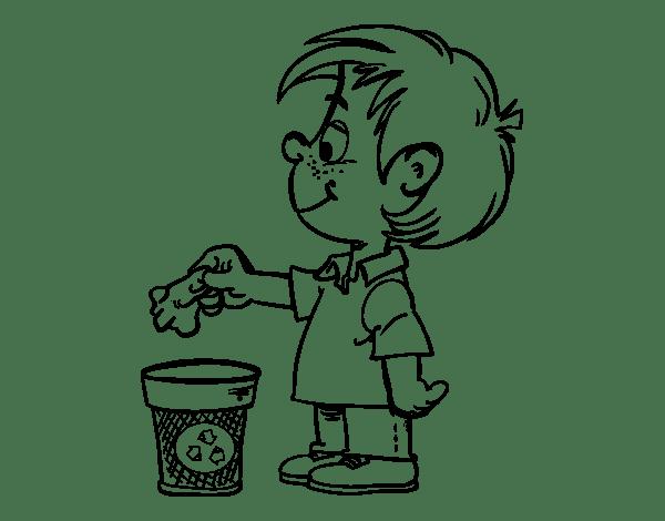 Dibujos Para Colorear Sobre Basura Organica E Inorganica
