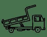 Disegno Di Camion Gru Da Colorare
