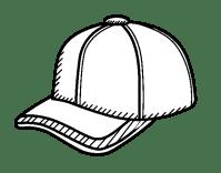 Disegno di Cappello da sportivo da Colorare - Acolore.com