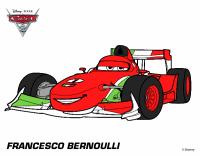 Disegni Da Colorare Cars 2 Francesco Bernoulli | Timazighin