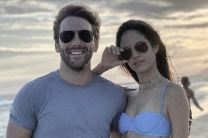 Ueze e Thayany estiveram no Rio e voltaram a São Paulo (Foto/Reprodução)