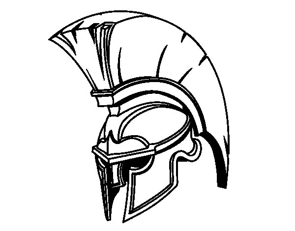 Soldier Helmet Coloring Pages