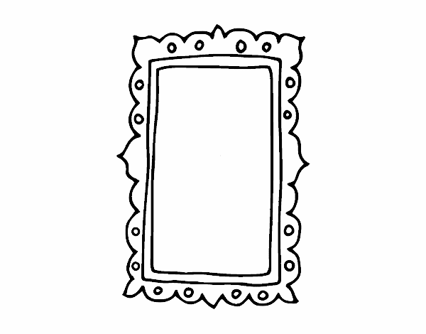 Colored page mirror painted by User not registered