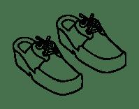 Zapatos Animados Para Colorear Dibujos Para Colorear De Zapatos