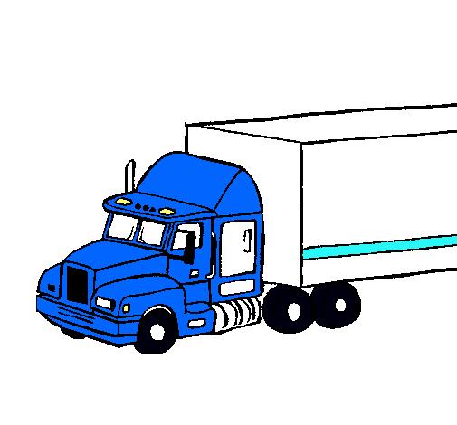 Camion De Bomberos Para Colorear
