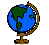 Dibujo de Bola del mundo II pintado por Mundo en Dibujos ...
