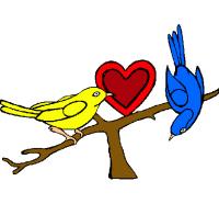 Dibujo de Pajaritos pintado por Bolis en Dibujos.net el