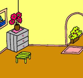 Dibujo de Casa por dentro pintado por Mi casa ful en Dibujos net el día 01 02 11 a las 00:10:25 Imprime pinta o colorea tus propios dibujos!