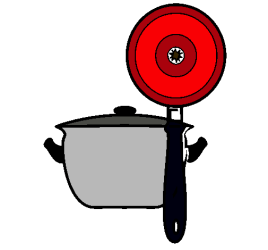 Dibujo de Utensilios de cocina pintado por Yobe en Dibujos