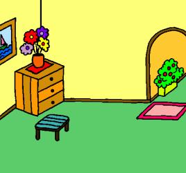 Dibujo de Casa por dentro pintado por Esty en Dibujos net el día 02 04 11 a las 10:06:14 Imprime pinta o colorea tus propios dibujos!