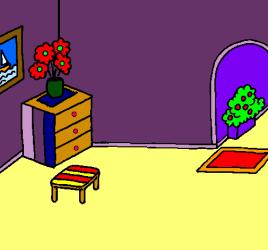 Casa por dentro pintado por crisaba www dibujos net