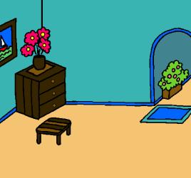 Casa por dentro pintado por lore45 www dibujos net