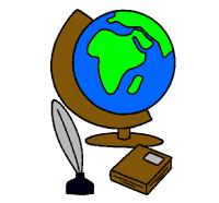 Dibujo de Bola del mundo pintado por Peligro en Dibujos