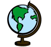 Dibujo de Bola del mundo II pintado por Mapamundi en ...