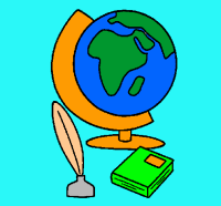 Dibujo de Bola del mundo pintado por Mundo en Dibujos.net