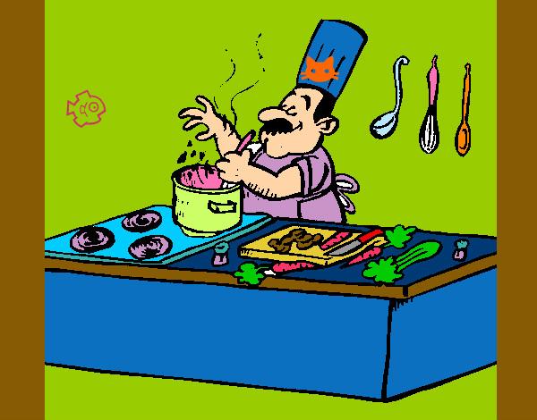 Cocina Dibujo Amazing Utensilios De Cocina Ollas Y