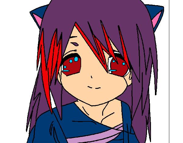 Dibujo de Kitten pintado por Hanon_chan en Dibujos.net el