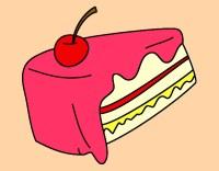 Dibujo de trozo de pan pintado por Danifinal en Dibujos