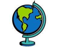 Dibujo de Bola del mundo II pintado por Viktorenge en ...