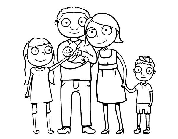 Imagenes De Familias Para Imprimir