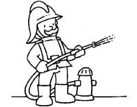 Dibujo de Bombero 1 pintado por Pepowen en Dibujos.net el ...