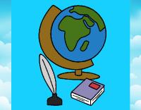 Dibujo de Bola del mundo pintado por en Dibujos.net el da ...