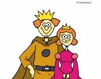 Dibujo de Rey y reina pintado por en Dibujos.net el da 26 ...